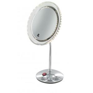 Miroir sur pied éclairant